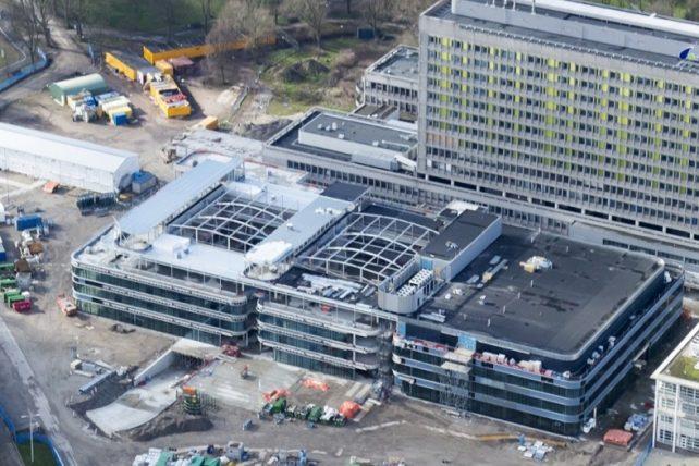 Cascobouw HagaZiekenhuis Den Haag