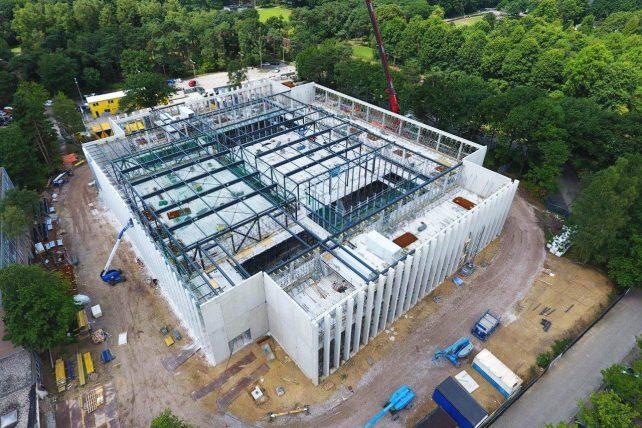 MBS Cascobouw Universiteit Tilburg