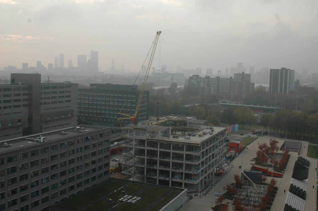 Nieuwbouw MFO-gebouw Erasmus Universiteit Rotterdam