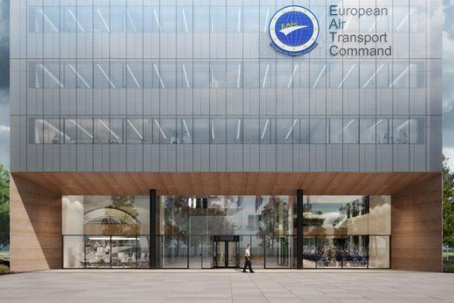 Nieuwbouw hoofdkantoor EATC Eindhoven Airport