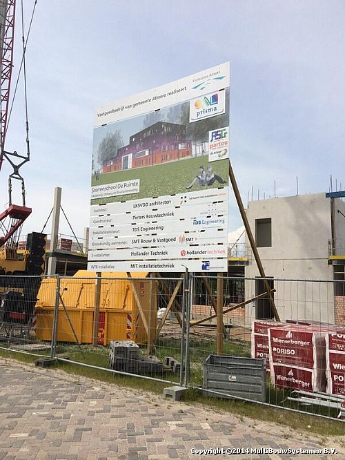 Nieuwbouw Sterrenschool Almere