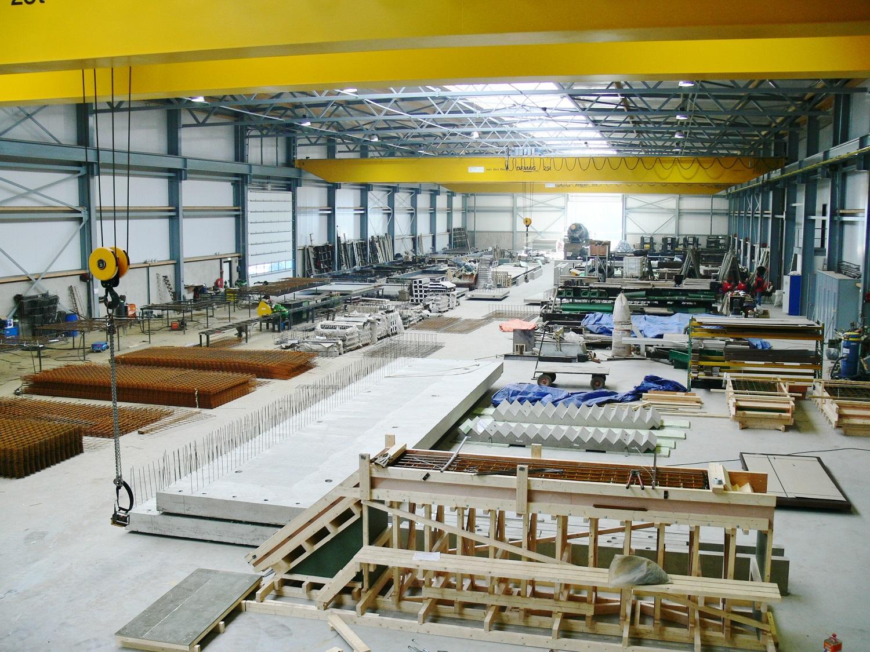 Betonfabriek cascowanden