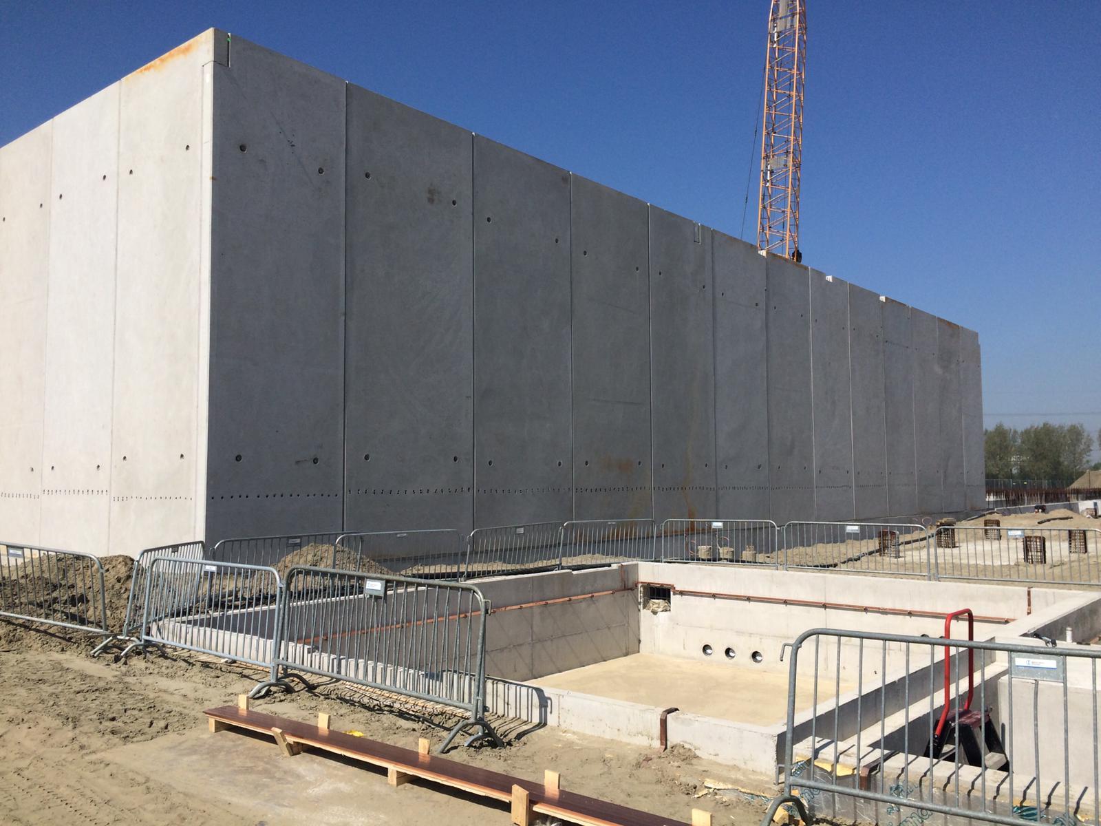 Hoogspanningsstations MBS Cascobouw