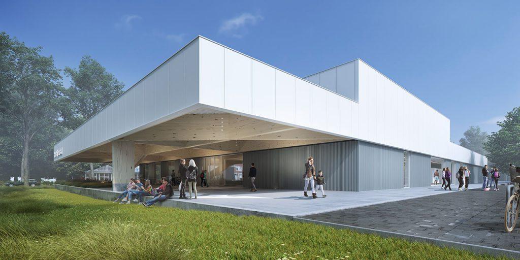 Prefab betoncasco Zwembad Velp MBS Cascobouw