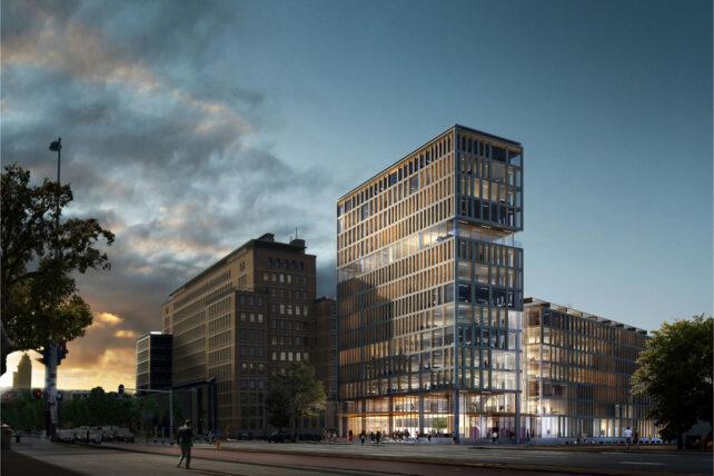 Conradhuis Amsterdam MBS Cascobouw