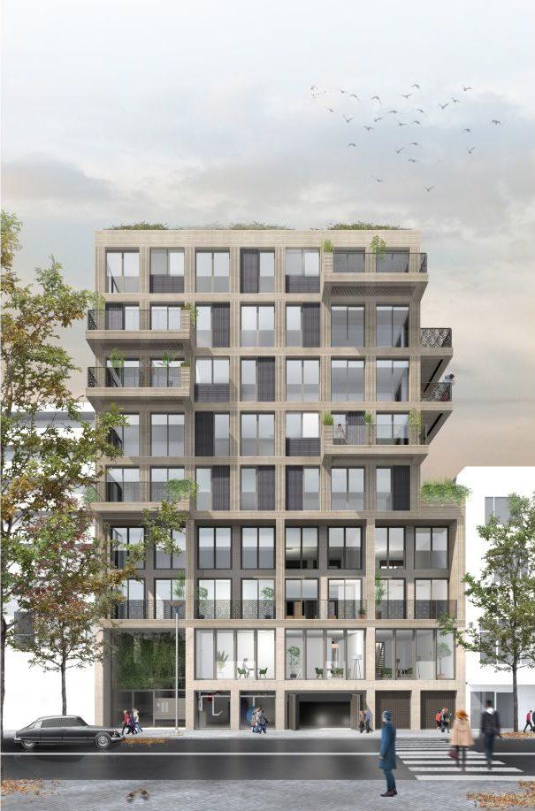 Hooghout MBS Cascobouw appartementencomplex