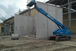 Hoogspanningsstation MBS Cascobouw